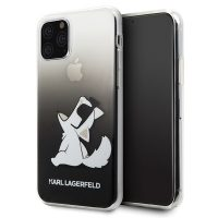 Apple Iphone 11 Pro Max Karl Lagerfeld Choupette Gradient Case